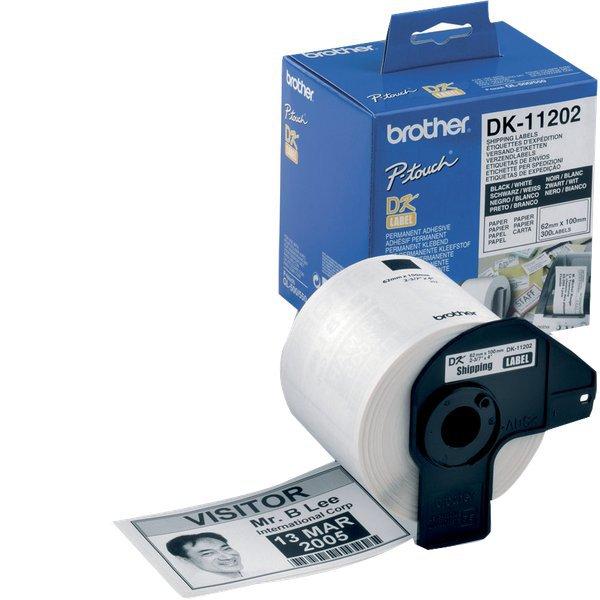 Etichette adesive in carta serie DK