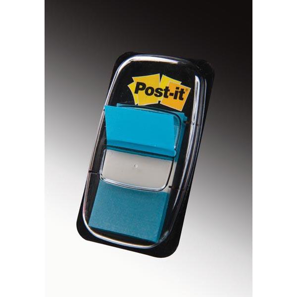 Segnapagina Post it® Index Medium - 25,4x43,2 mm - blu vivace - Post it® - conf. 50 pezzi