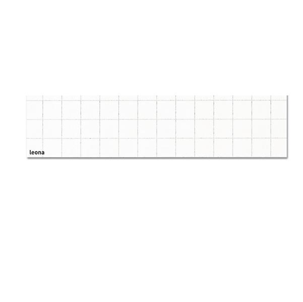 Carta leona - 70x100cm - bianca - 10mm ambo i lati - 120gr - Favini - Conf. 50 fogli