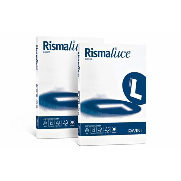 Carta Rismaluce - A4 - 140 gr - bianco - Favini - conf. 200 fogli