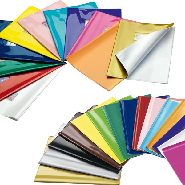 Coprimaxi laccato Colorosa - 21x30cm - PVC - viola - tasca con alette - Ri.plast