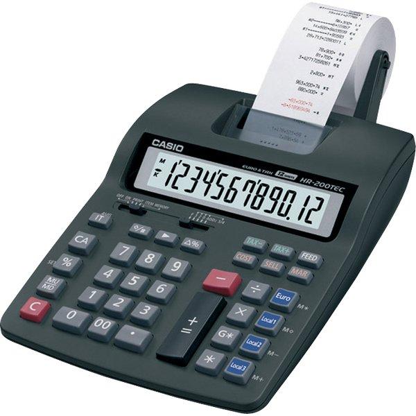 Calcolatrice stampante compatta HR-200TEC Casio - HR ...