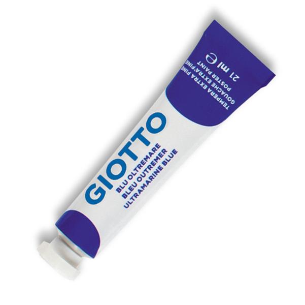 Tempera Tubo 7 - 21ml - blu oltremare - Giotto