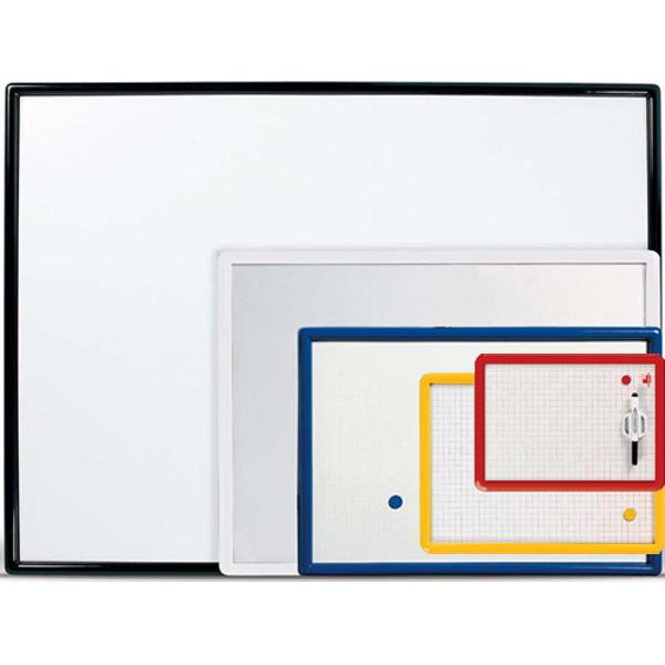 Lavagna magnetica Lmv - bianca - 35x50 cm - cornice in colori assortiti - Arda
