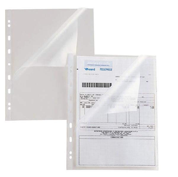 Buste aperte a L Atla A - con foratura universale - PPL - buccia - 22x30 cm - Sei Rota - conf. 25 pezzi