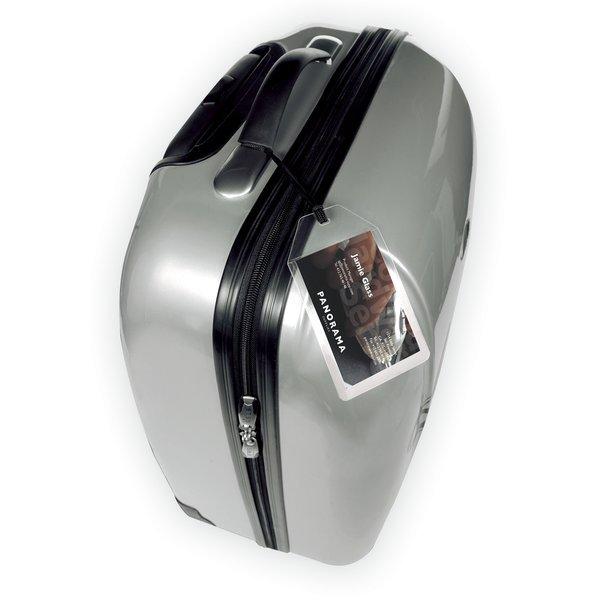 Targa business per valigia