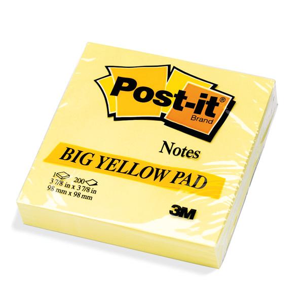 Blocco foglietti - giallo Canary