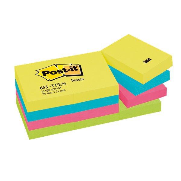 Foglietti Post-it  colori Energy