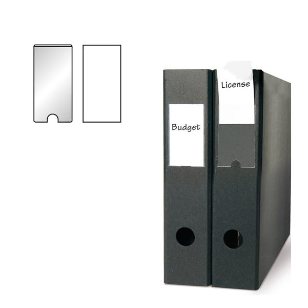 Portaetichette adesivo - PPL - 75x150 mm - trasparente - 3L - conf. 3 pezzi