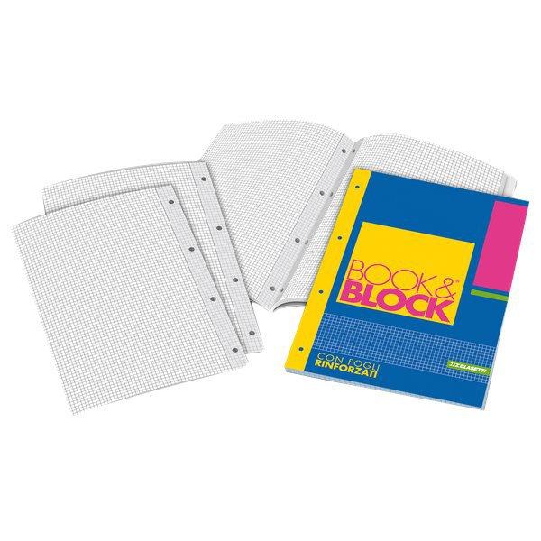 Blocchi collati rinforzati Book&Block