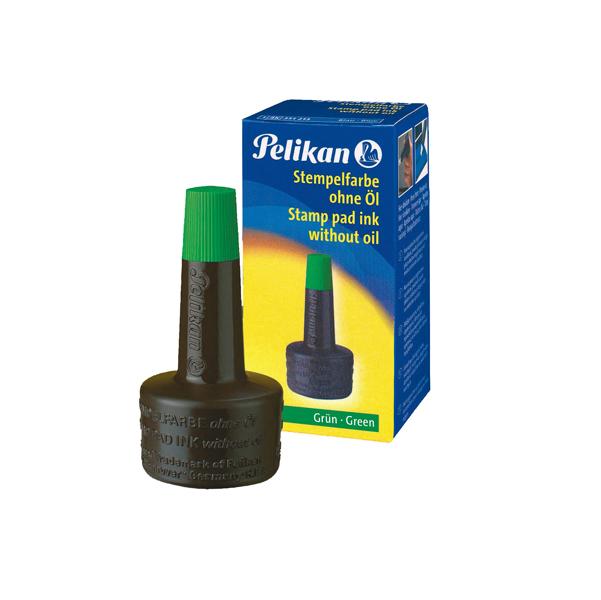 Inchiostro 4k per cuscinetti - senza olio - 28 ml - verde - Pelikan