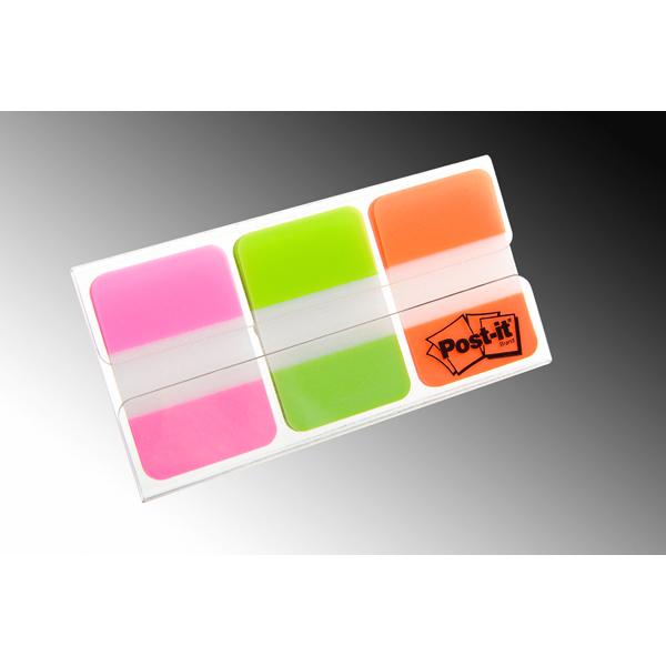 Segnapagina Post it® Index Strong Medium - 25x38 mm - colori vivaci - Post it® - conf. 66 pezzi