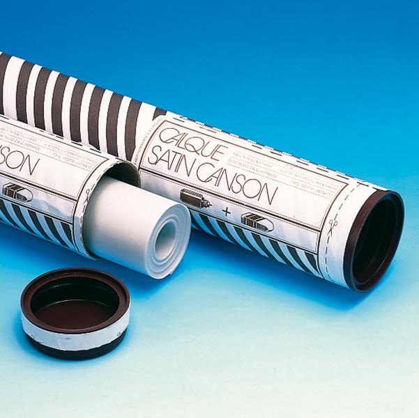 Rotolo carta lucida satinata - 90cmX20mt - 90/95gr - uso manuale - Canson