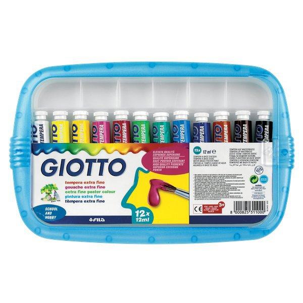 Favorito Tubetti tempera Giotto - 21 ml - 327000 (conf.5) - Ufficio.com ZZ76