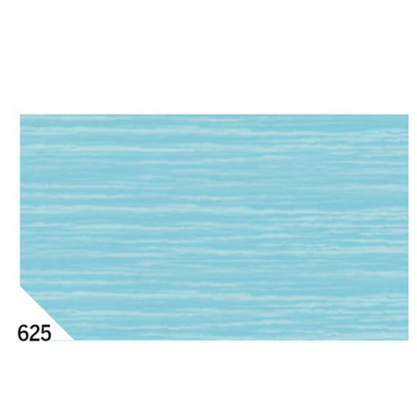 Carta crespa - 50x250cm - 60gr - azzurro 625 - Sadoch - Conf.10 rotoli