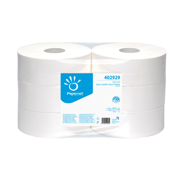 Carta igienica Maxi Jumbo - ø 26.7 cm - 371 m - Papernet
