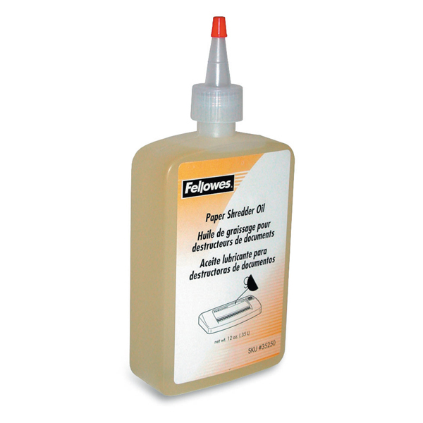 Olio lubrificante x distruggidocumenti - 350ml - Fellowes