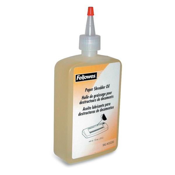 Olio lubrificante x distruggidocumenti - 350ml - Fellowes
