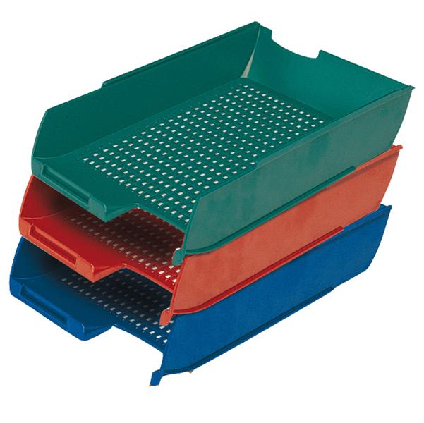 Vaschetta portacorrispondenza PS7Star - rosso - Presbitero