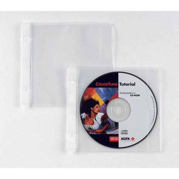 Buste forate Atla CD 1 - 125x120 mm - Sei Rota - conf. 25 pezzi