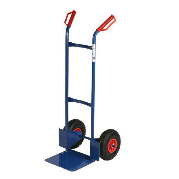 Carrello portacasse con ruote pneumatiche