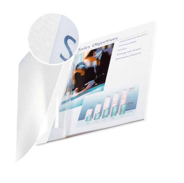 Copertine Impressbind - flessibile - 7 mm - nero - Leitz - scatola 10 pezzi