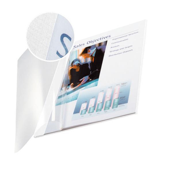 Copertine Impressbind - flessibile - 10,5 mm - bianco - Leitz - scatola 10 pezzi