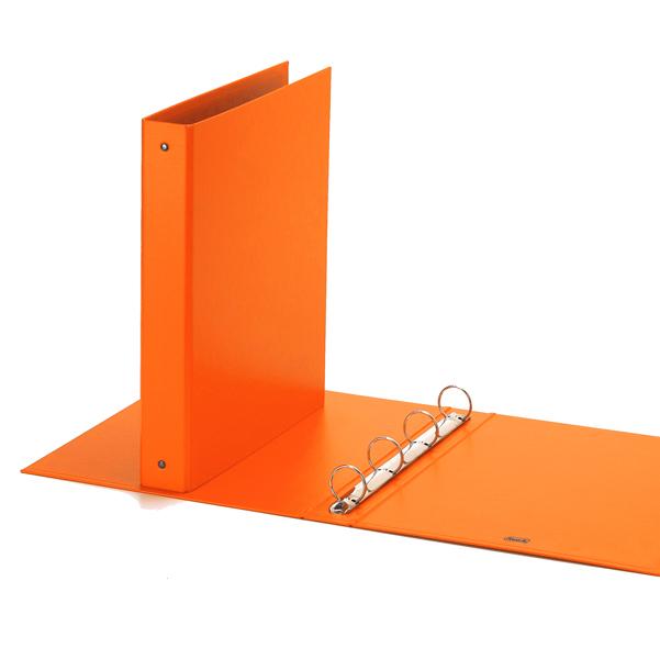 Raccoglitore europa 4010 22x30mm 4r dorso 30 arancio favorit