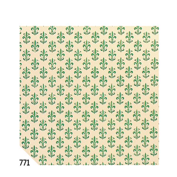 Rotolo Cartarivesto Rex 58 - 50x500 cm - lavabile - giglio verde - Rex Sadoch