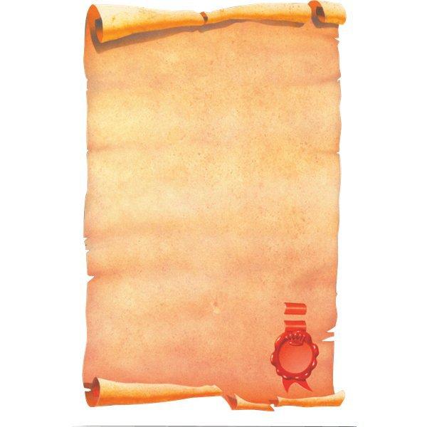 Carta a tema decadry pergamena con sigillo 80 g for Immagine pergamena da colorare