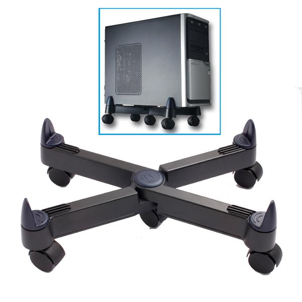 Porta CPU con ruote PC101 - nero - Tecnostyl