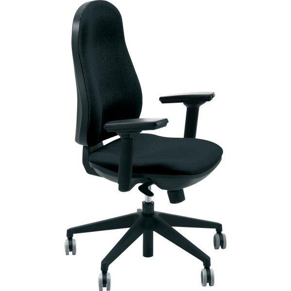 Sedia ergonomica chachacha Unisit - nero - SUPRAER/C11 ...
