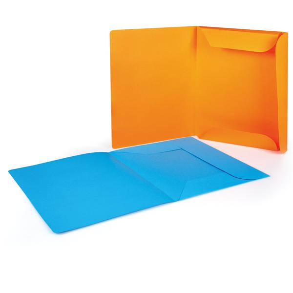 Cartelline 3 lembi - 200 gr - 25x33 cm - mix 6 colori - Brefiocart - conf. 12 pezzi