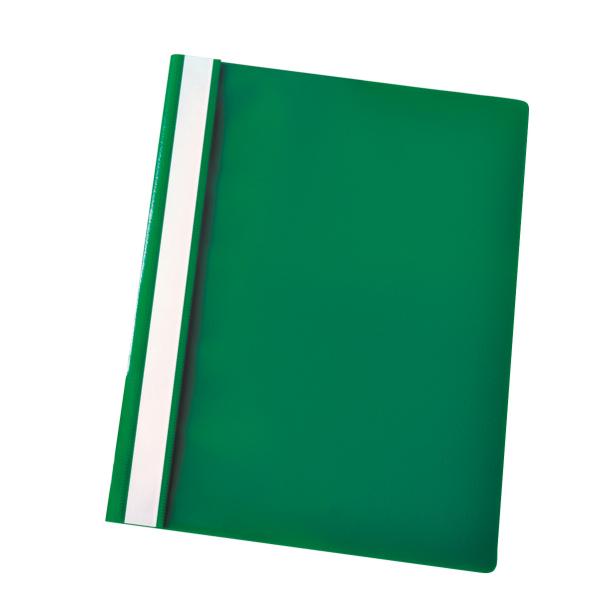 Cartellina ad aghi Report File - con fermafogli - PPL - 21x29,7 cm - verde - Esselte