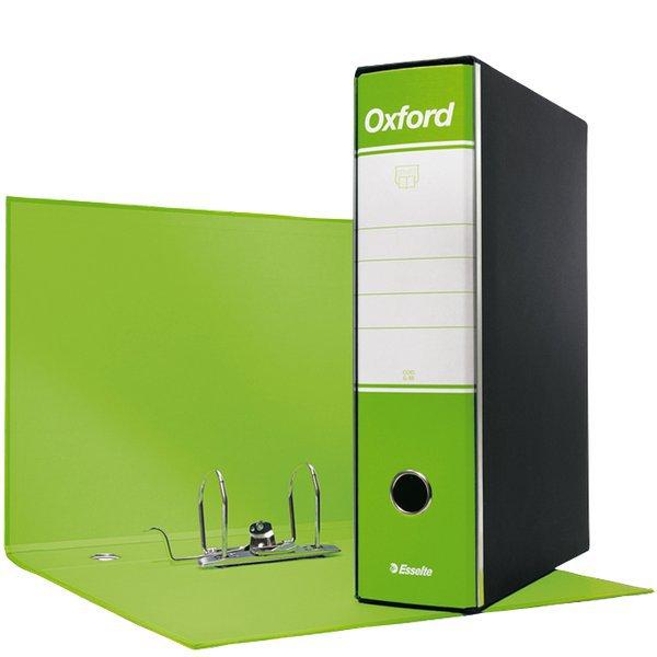 a73ffd1c97 Registratori Oxford Esselte - protocollo - 8 cm - 23x33 cm - Verde ...