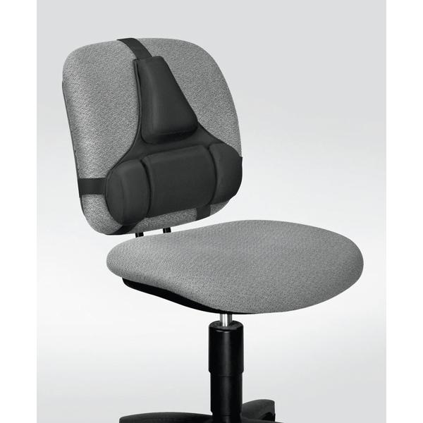 Supporto lombare ergonomico - 38x37x5 cm -  nero - Fellowes