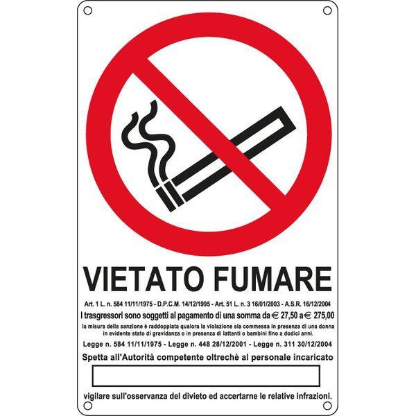 Cartelli segnaletici divieto - antincendio