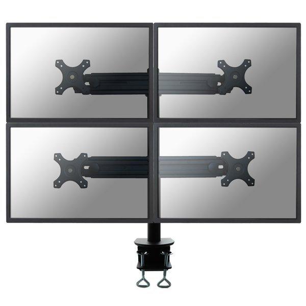 Supporto da scrivania 4 monitor LCD/LED/TFT fino a 30