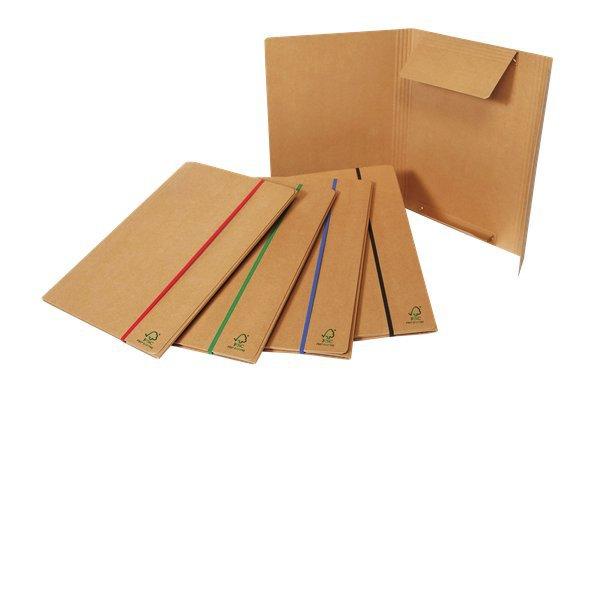 Cartellina con elastico piatto