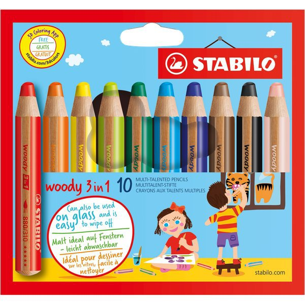 Pastelli Woody 3 in 1