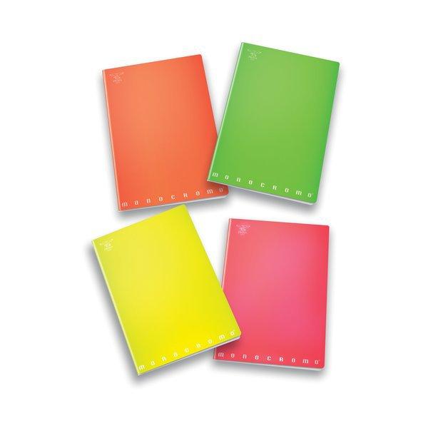Quaderni A4 Monocromo Fluo