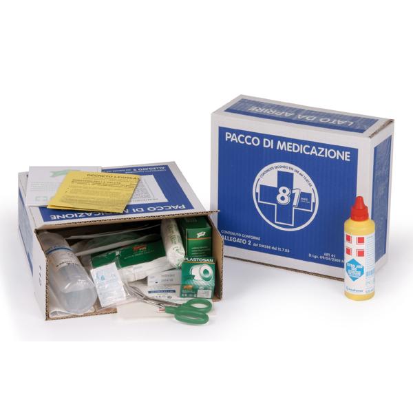 Kit di reintegro pronto soccorso Allegato 2 - fino a 2 persone - PVS