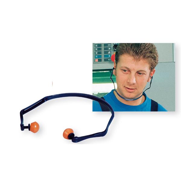 Inserti auricolari con archetto 1310 - SNR 26 dB - blu/arancio - 3M