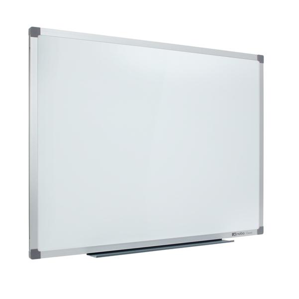 Lavagna bianca magnetica Classic - 90x120 cm - Nobo
