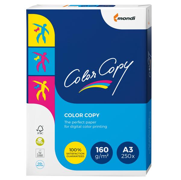Carta Color Copy - 320 x 450 mm - 160 gr - bianco - Sra3 - Mondi - conf. 250 fogli