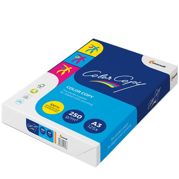 Carta Color Copy - 320 x 450 mm - 250 gr - bianco - Sra3 - Mondi - conf. 125 fogli
