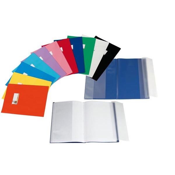 Coprimaxi LF - A4 - PVC -  laccato - cover - azzurro - Sei Rota