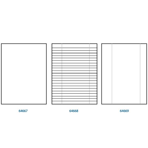 Carta uso bollo - A4 - 80gr - 1 rigo - c/margine - Sabacart - conf. 500fg