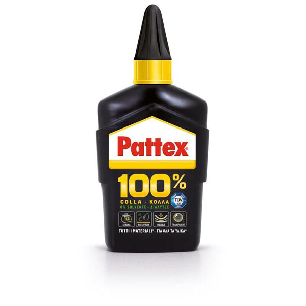 Pattex® 100% Colla - 100 gr - trasparente - Pattex®