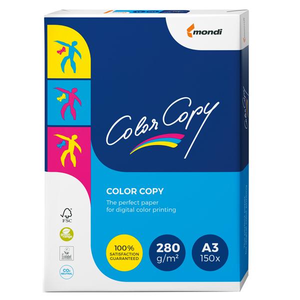 Carta Color Copy - 320 x 450mm - 280gr - bianco - Sra3 - Mondi - conf. 150fg